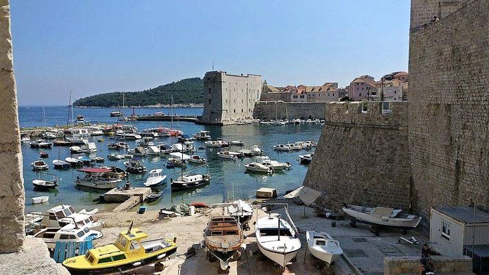 Le port de Piran en Croatie, a 1600 km de chez nous