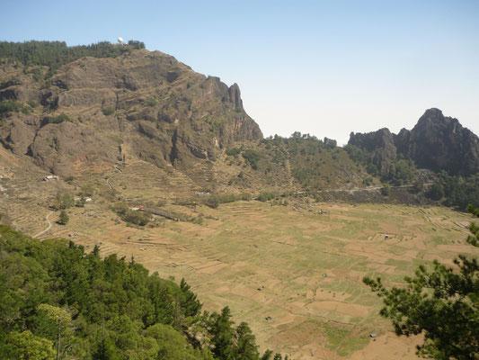 Krater auf Santo Antao