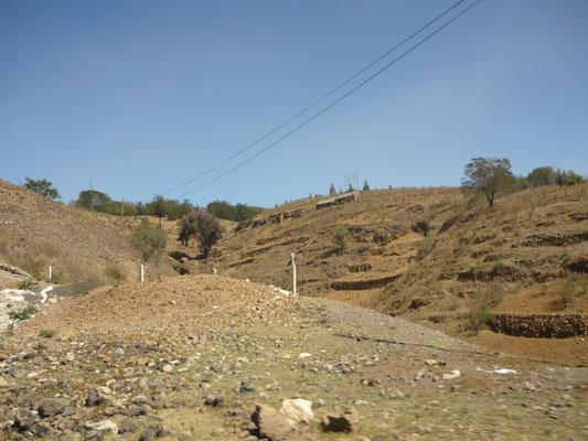 Karge Landschaft auf Santo Antao