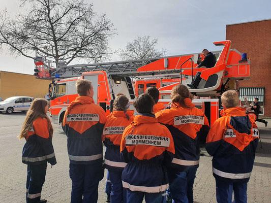 Ausflug zur Berufsfeuerwehr Wiesbaden