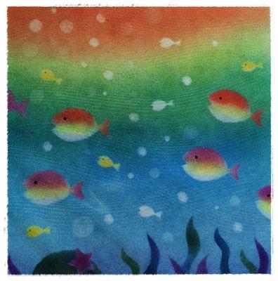 海のお魚たち(和アート)★