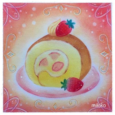 苺のロールケーキ ★★★★