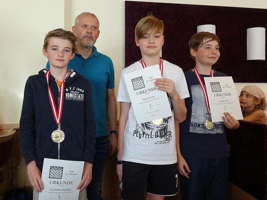 U15: Ruadhan Osuillebhain, Florian Hager, Elias Angerer