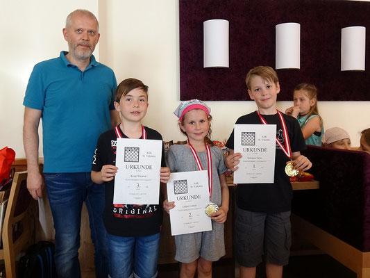 U10: Richard Klopf, Linnea Lehner, Felix Schwarz