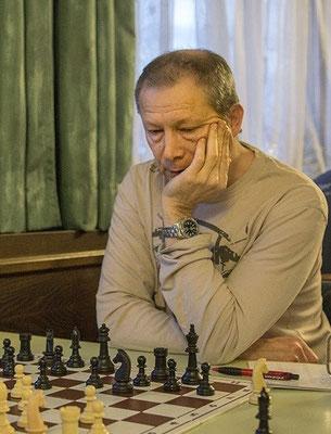 Peter Wegner, Favoritenschreck in den ersten Runden, nütze (noch) nicht alle seine Chancen