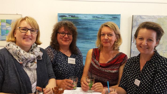 Blaue Stund Künstler: v.r. Fandrey, Blesse, Mundhenk, Harwardt