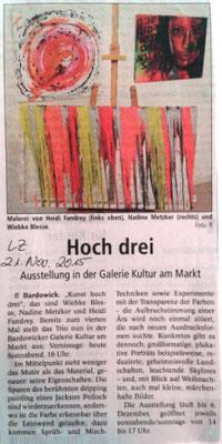Landeszeitung 21.11.2015