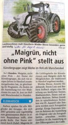 Winsener Anzeiger 15.04.2015