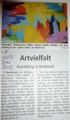 Landeszeitung, 16.06.2012