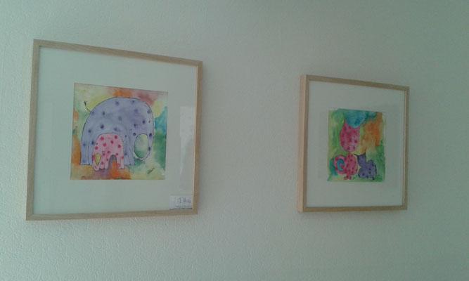 Dauerausstellung bei der Heilpraktikerin Dagmar Weidler in Wittorf