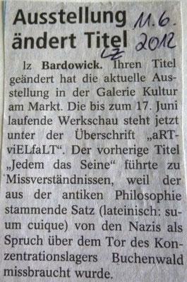 Landeszeitung, 11.06.2012