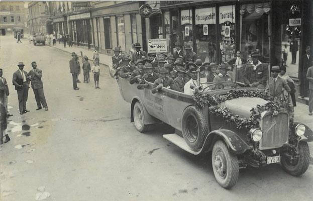 Ausflugsfahrt 1930/31