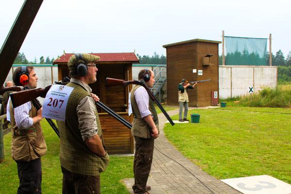 Unsere Mannschaft für das Jagdliche Schießen bei der Landesmeisterschaft, Ansprechpartner ist Henrik Schwedt