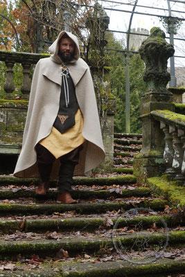 Tasselmantel Druidengewand Druiden Gewandungen keltisch