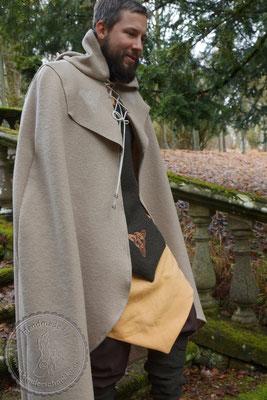 Tasselmantel Druidengewand Druiden Gewandung keltisch