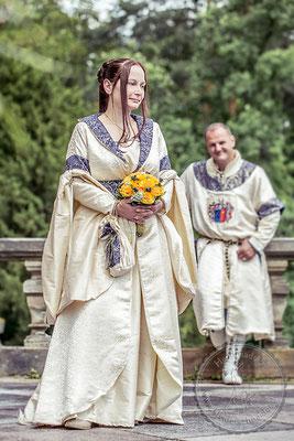 historisches Brautkleid