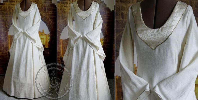 Mittelalterliches Hochzeitskleid, Mittelalterkleid