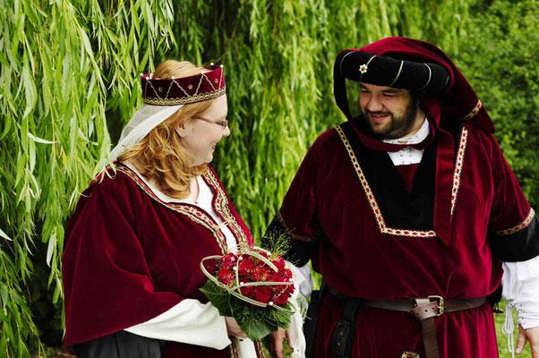 Mittelalter Gewand Houppelande Mittelalterkleid