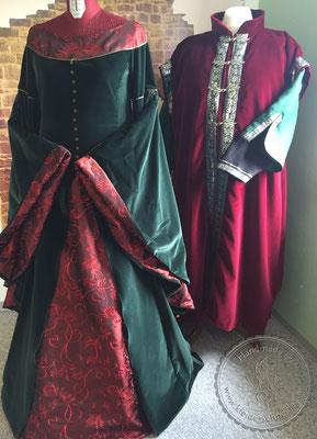 mittelalterliche Gewänder Mittelalterkleider