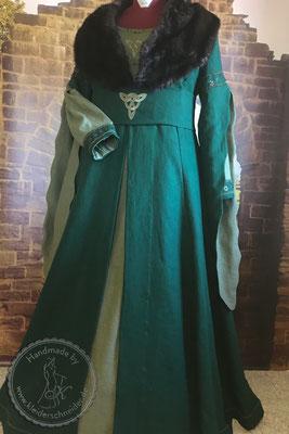 Mittelaltergewand, Mittelalterkleid, Historische Gewandungen, Hochzeitsgewandung