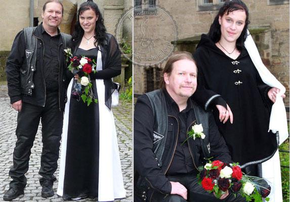 Gothik Hochzeit Brautkleid