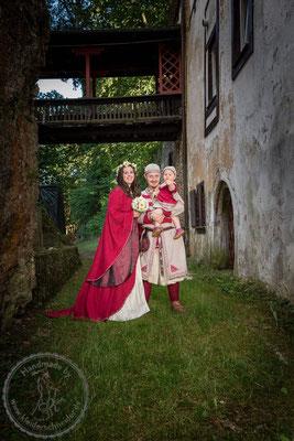 Hochzeitsgewand Mittelalterkleid