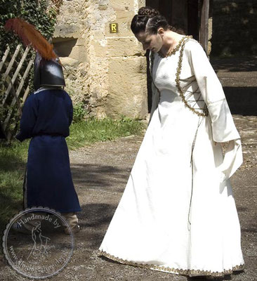 Teufelasfenster Brautkleid, Mittelalterkleid, Mittelaltergewand