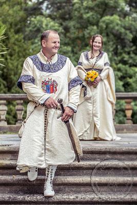 historische Mittelalterhochzeit