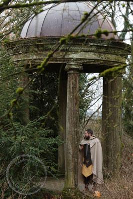 Tasselmantel Gewand Druidengewand Druiden keltisch