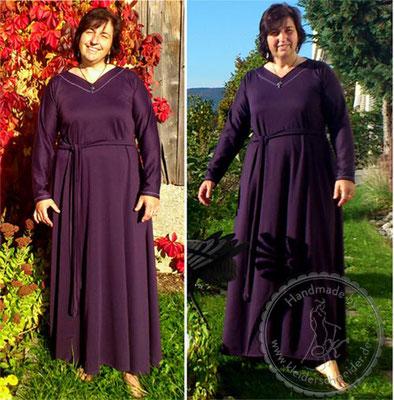 Hauskleid, Nachkleid, Mittelalterkleid