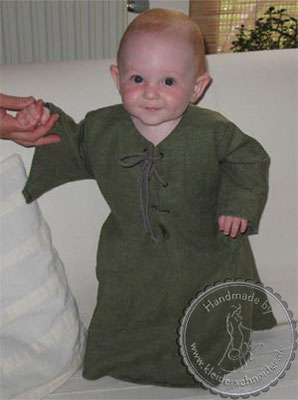 Baby Gewand, Kindergewand