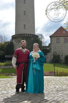 Mittelalter Hochzeit Gewandung