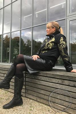 Designermode Mode Design Style Jacke Jacket Brokat Unikat