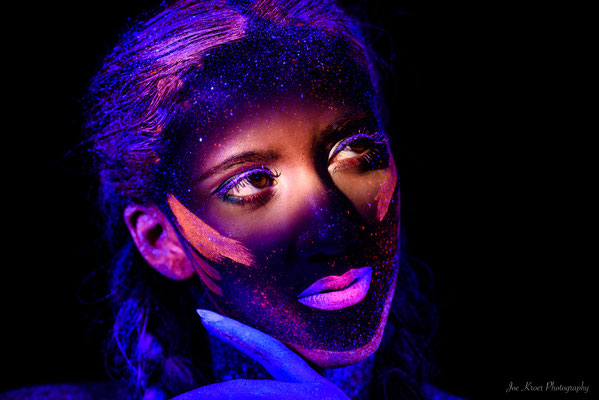 UV Colours - Special MakeUp shooting