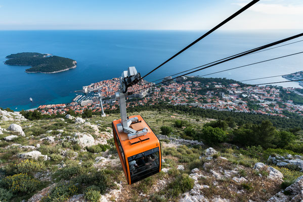 Cable Car (Srd) in Dubrovnik (Croatia)