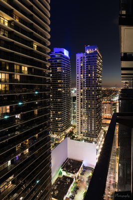 Skyline Miami Nights (Florida) USA
