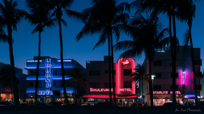 Hotel Colony - Art Deco District Miami Nights (Florida) USA