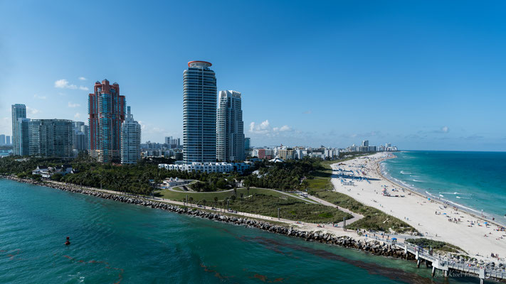 Miami South Beach View (Florida) USA