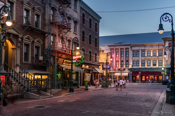 NYC old town Street in Universal Studios (Orlando) USA