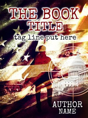 Ebook Premade Cover Nr. SPBC-33616 / 67,- € White House Crime ebook Cover Thriller Buchcover Kriminalroman Attentat