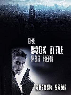 Ebook Premade Cover Nr. SPBC-27571 / 58,- € Kriminalroman Roman premade ebook cover Mann Waffe