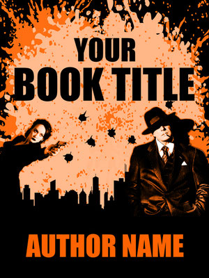 Ebook Premade Cover Nr. SPBC-35646 / 58,- € Illustration Retro Krimi ebook Cover crime Buchcover Zeichnung Detektiv