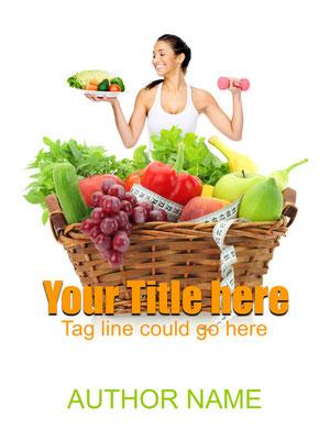 Ebook Premade Cover Nr. SPBC-22923 / 60,- € Diät Sachbuch Ratgeber Ernährung Fitness Abnehmen Buchcover ebook Cover Frau