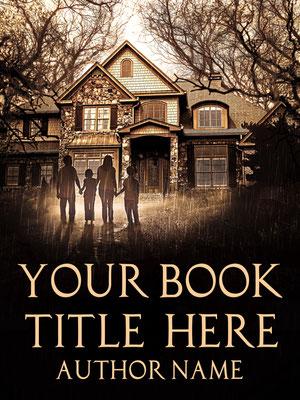 Ebook Premade Cover Nr: SPBC-37438 / 63,- € Mystery Horror Romantik premade ebook Cover deutsch Paranormal spooky Bookcover Buchcover Haus Wald