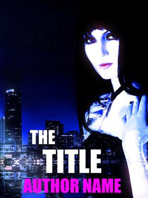 Ebook Premade Cover Nr: SPBC-30095 / 63,- € Miami Cityscape Woman Black Hair Romance Buchcover