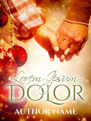 Ebook Premade Cover Nr. SPBC-54679 / 58,- € Paar Liebe älteres Senior Weihnachten festlich Familie Treue Buch Cover Taschenbuch