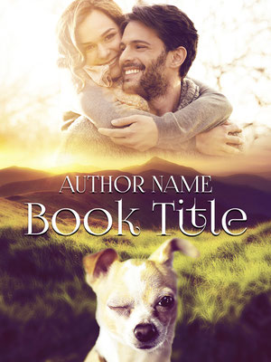 Ebook Premade Cover Nr. SPBC-54302 / 58,- € Paar Liebe Romantisch Hund ebook Cover Premade Couple Romance dog cute niedlich