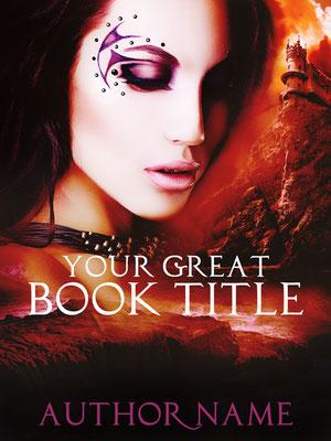 Ebook Premade Cover Nr: SPBC-25667 / 63,- € Fantasy Burg Woman Frau Buchcover