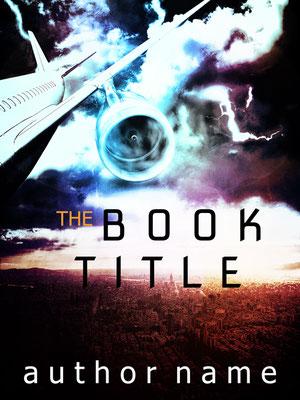 Ebook Premade Cover Nr. SPBC-25431 / 58,- € Flugzeugabsturz Airplane Thriller Mystery Thriller ebook buchcover
