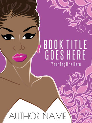 Ebook Premade Cover Nr: SPBC-56849 / 65,- € Africanamerican Woman Floral pink Romance luxury